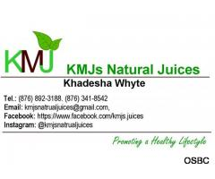 KMJs Natural Juices